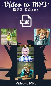 Video to MP3 : MP3 Editor poster