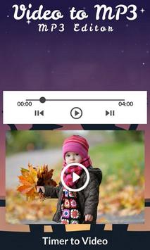 Video to MP3 : MP3 Editor screenshot 4