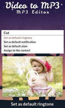 Video to MP3 : MP3 Editor screenshot 5