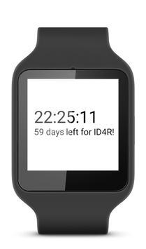 ID4R Countdown WatchFace apk screenshot