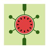 Dot it: Watermelon icon