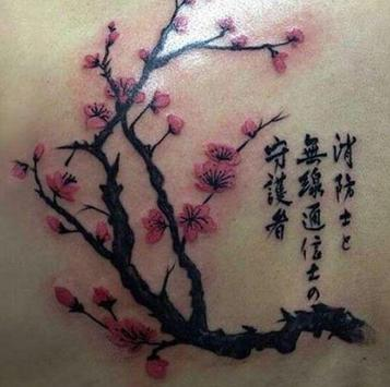 Cherry Blossom Tattoo screenshot 2
