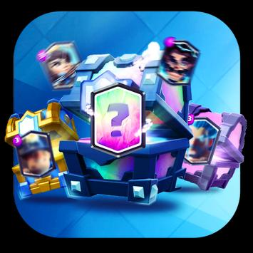 Chest Clash Royale  Simulator 截图 1