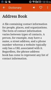 Ubuntu Dictionary apk screenshot