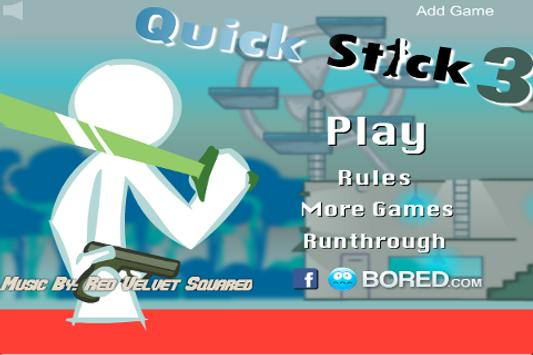Quick Stick Figure Fight 3 screenshot 1