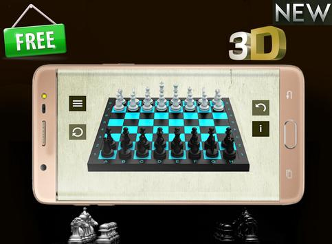 New Chess 3D poster
