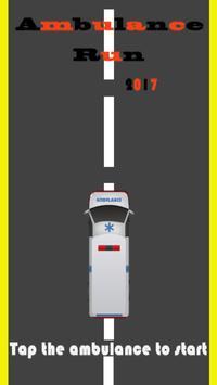 Ambulance Run 2017 poster