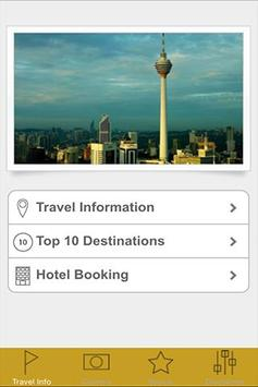 Malaysia Holiday:Hotel Booking poster