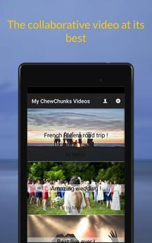 ChewChunks apk screenshot