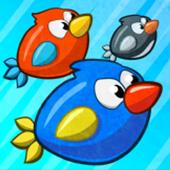 Turbo Birds: Fun Race icon