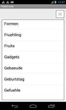 Learning German Flashcards poster