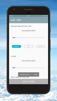 Cheapest Flight Ticket Scanner apk screenshot