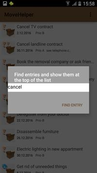 MoveHelper: Organize your Move screenshot 2