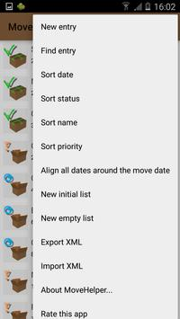 MoveHelper: Organize your Move screenshot 7
