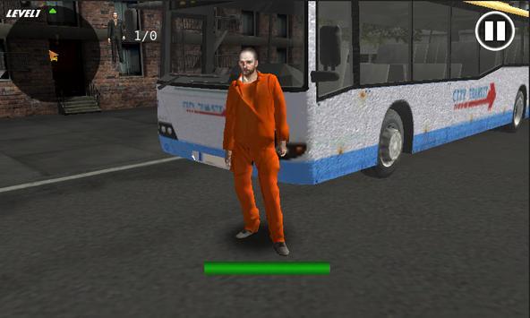 Prison Bus Driver Transport3D poster