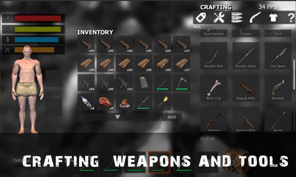 Survival Crafting ForestHunter apk screenshot