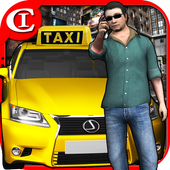 Extreme Taxi Crazy Driving Simulator 2018 icon