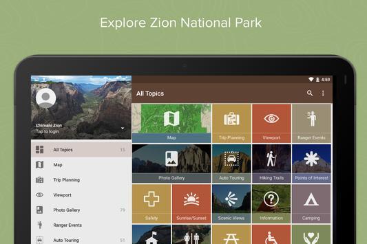 Zion National Park by Chimani screenshot 5