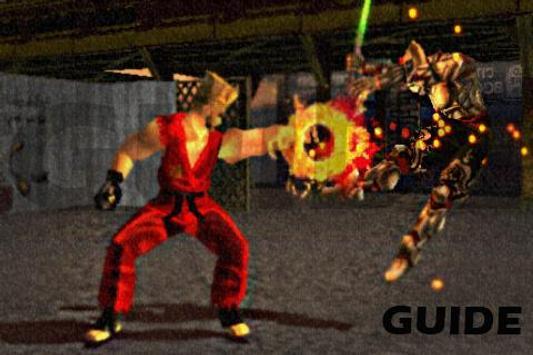 Guide Tekken 3 poster