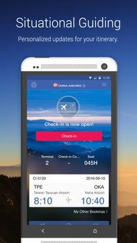 China Airlines App screenshot 1