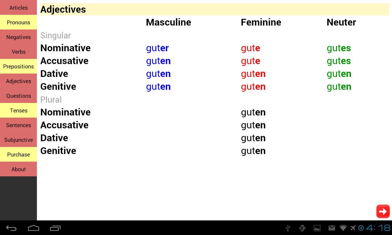 german grammar pdf free download