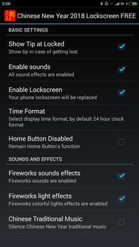 Chinese New Year 2018 Lockscreen FREE screenshot 3