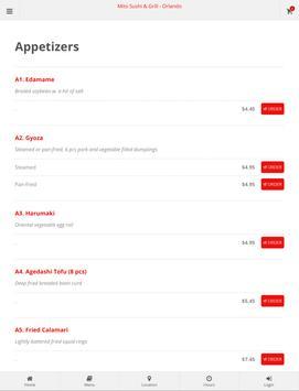 Mito Sushi & Grill Orlando Online Ordering screenshot 7