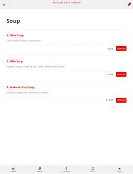 Mito Sushi & Grill Orlando Online Ordering screenshot 8