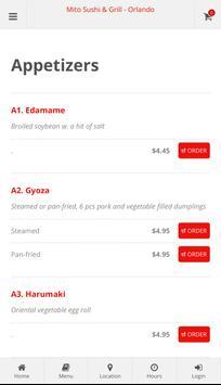 Mito Sushi & Grill Orlando Online Ordering screenshot 1