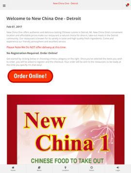 New China 1 - Detroit screenshot 3