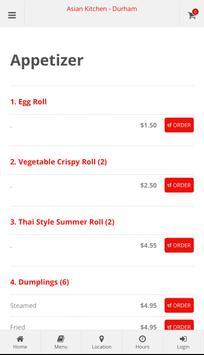 Asian Kitchen Durham Online Ordering screenshot 1