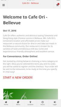 Cafe Ori - Bellevue poster
