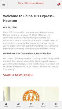 China 101 Express - Houston poster