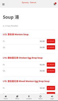 Dynasty Restaurant Detroit Online Ordering screenshot 2