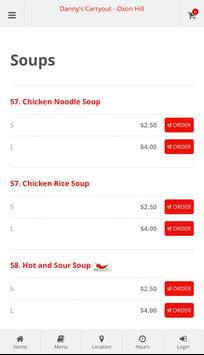 Danny's Carryout Oxon Hill Online Ordering screenshot 2