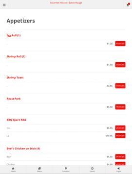 Gourmet House Baton Rouge Online Ordering screenshot 4