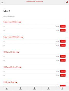 Gourmet House Baton Rouge Online Ordering screenshot 8