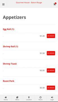 Gourmet House Baton Rouge Online Ordering screenshot 1