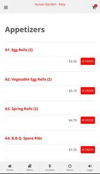 Hunan Garden Katy Online Ordering screenshot 1