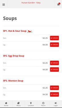 Hunan Garden Katy Online Ordering screenshot 2