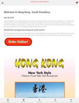 Hong Kong South Pasadena Online Ordering screenshot 3
