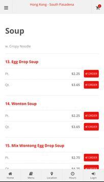 Hong Kong South Pasadena Online Ordering screenshot 2