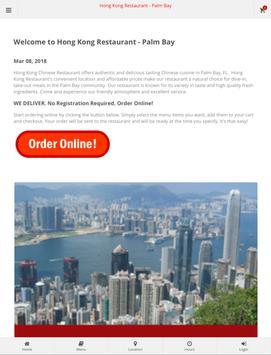 Hong Kong Restaurant Palm Bay Online Ordering screenshot 6