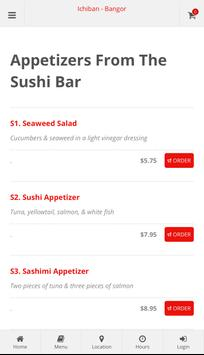 Ichiban Bangor Online Ordering screenshot 2