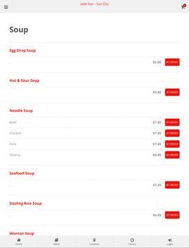 Jade Star Sun City Online Ordering screenshot 5