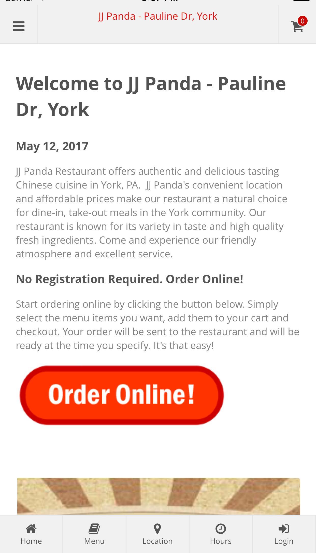 Jj Panda Chinese Cuisine Fur Android Apk Herunterladen