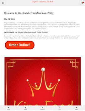 King Food Philadephia Online Ordering screenshot 6