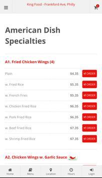 King Food Philadephia Online Ordering screenshot 2