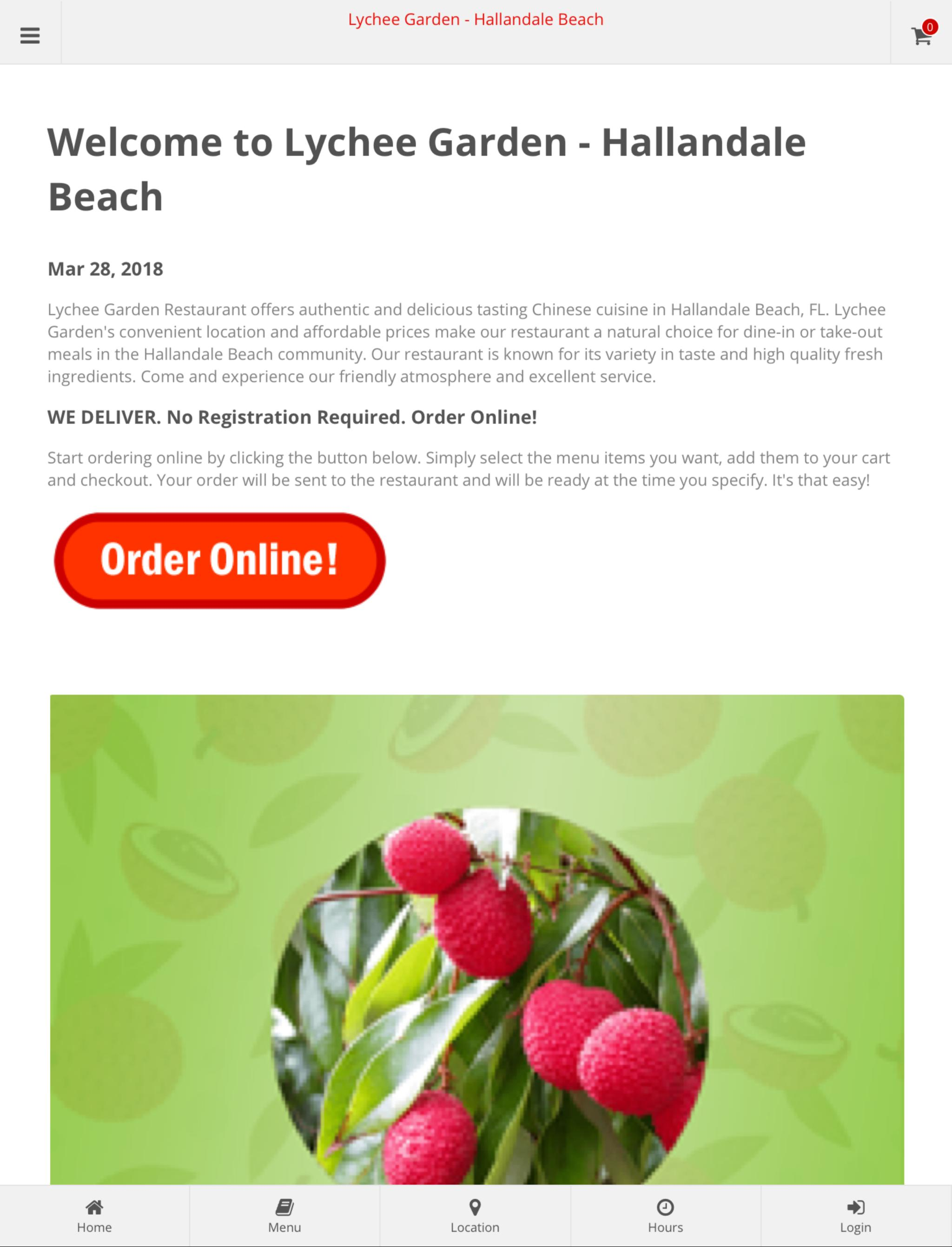 Lychee Garden Hallandale Beach Online Ordering For Android Apk