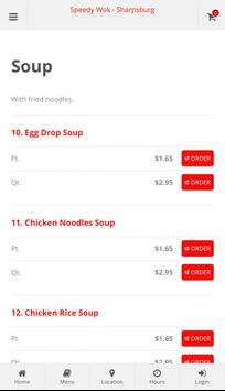 Speedy Wok Sharpsburg Online Ordering screenshot 2